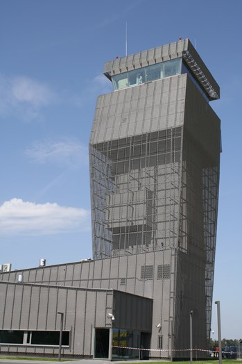 Air Traffic Control Centre at the airport in Lublinek