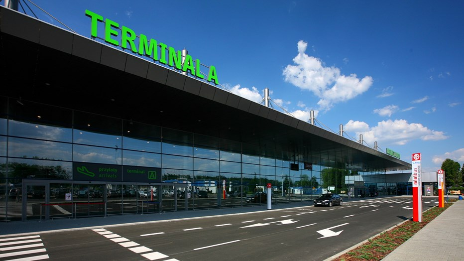 Passenger terminal in Pyrzowice