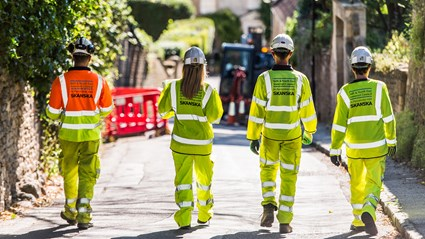 This 10-year contract is a partnership between Bath and North East Somerset Council and Skanska