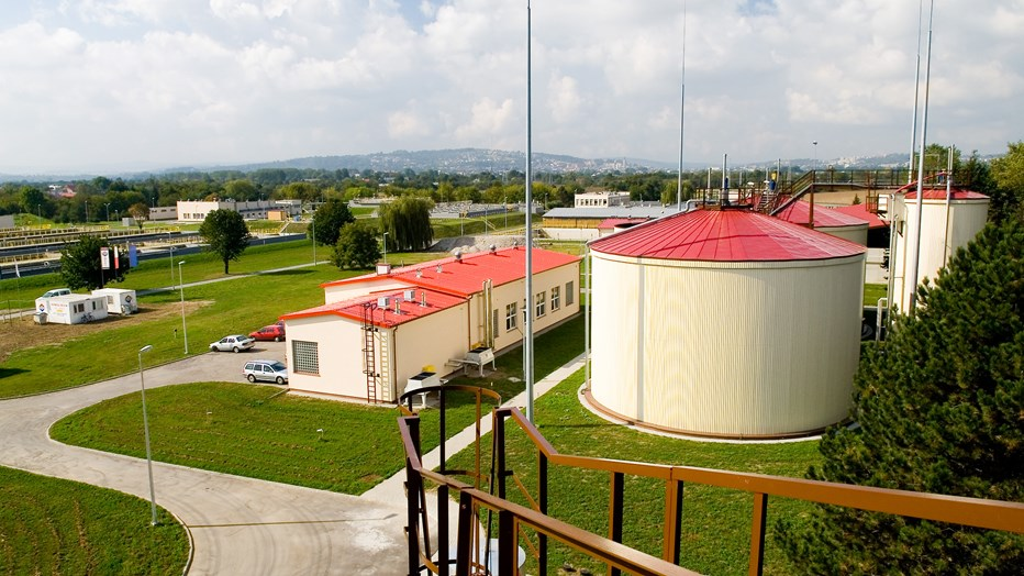 water treatment plant in Przemyśl
