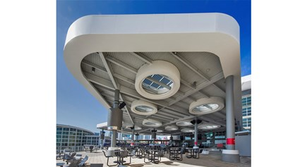 NRG Energy Solar Canopy at AmericanAirlines Arena