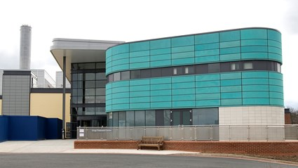 We funded, built, and now maintain, Royal Derby Hospital