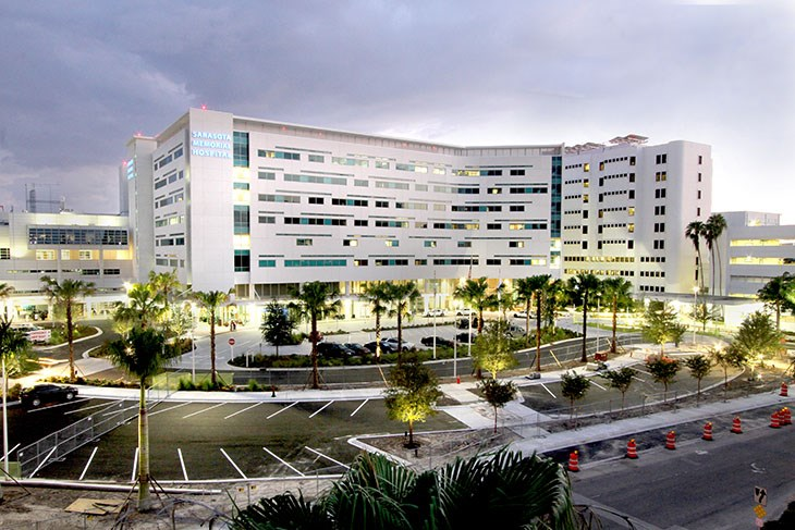 Sarasota Memorial Hospital Patient Bed Tower and Central Utility Plant