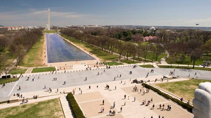 The Lincoln Memorial East Plaza Barrier System