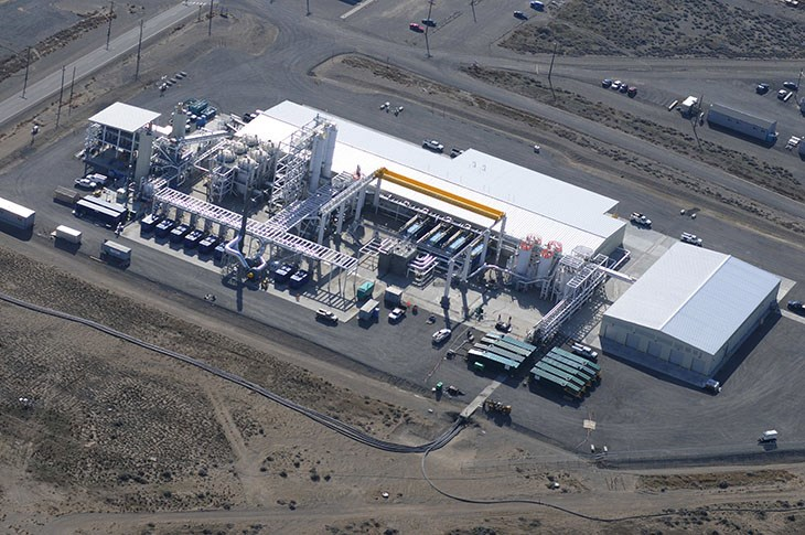 U.S. Department of Energy Hanford 200 West Pump and Treat Facility
