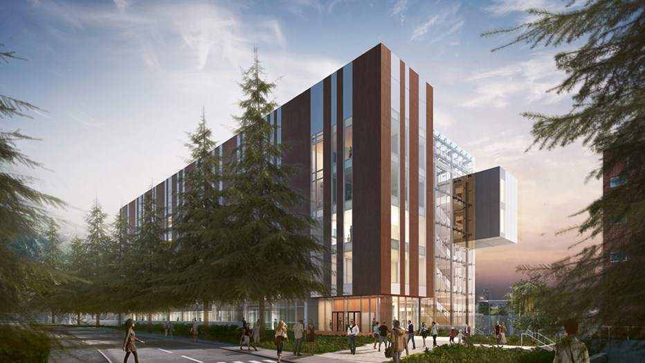 The University of Washington's vision was to build a facility that allows the Department of Biology to meet undergraduate student demand. Skanska is working with UW to deliver the new LSB and associated greenhouse, which is designed to foster team-oriented science using flexible, modular lab spaces.