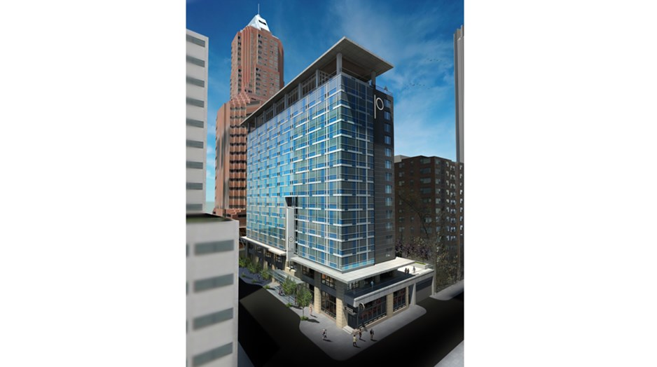 As one of the top U.S. markets, The Widewaters Group wanted to invest in a hotel development near Portland's progressive, urban core. Skanska partnered with Hogan Campis Architecture to construct a boutique hotel, while carefully preserving historic street lamps that surround the premier site